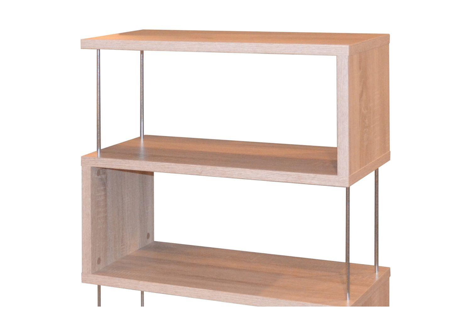 b cherregal neu modern standregal eiche s gerau regale regal aufbewahrung ebay. Black Bedroom Furniture Sets. Home Design Ideas