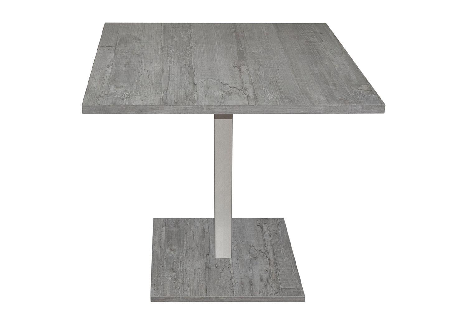 Bistrotisch eckig 0544/80x80 beton