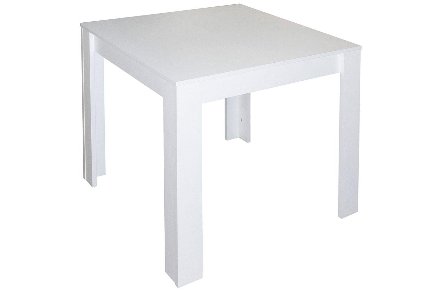 Tisch tische ausziehbar erweiterbar k chentisch for Designer esstisch 80x80
