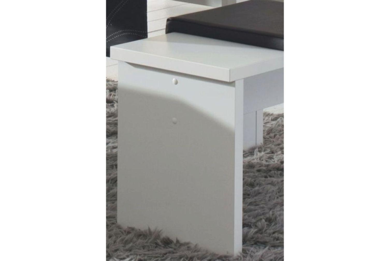 Sitzbank 0585/90 Weiss matt
