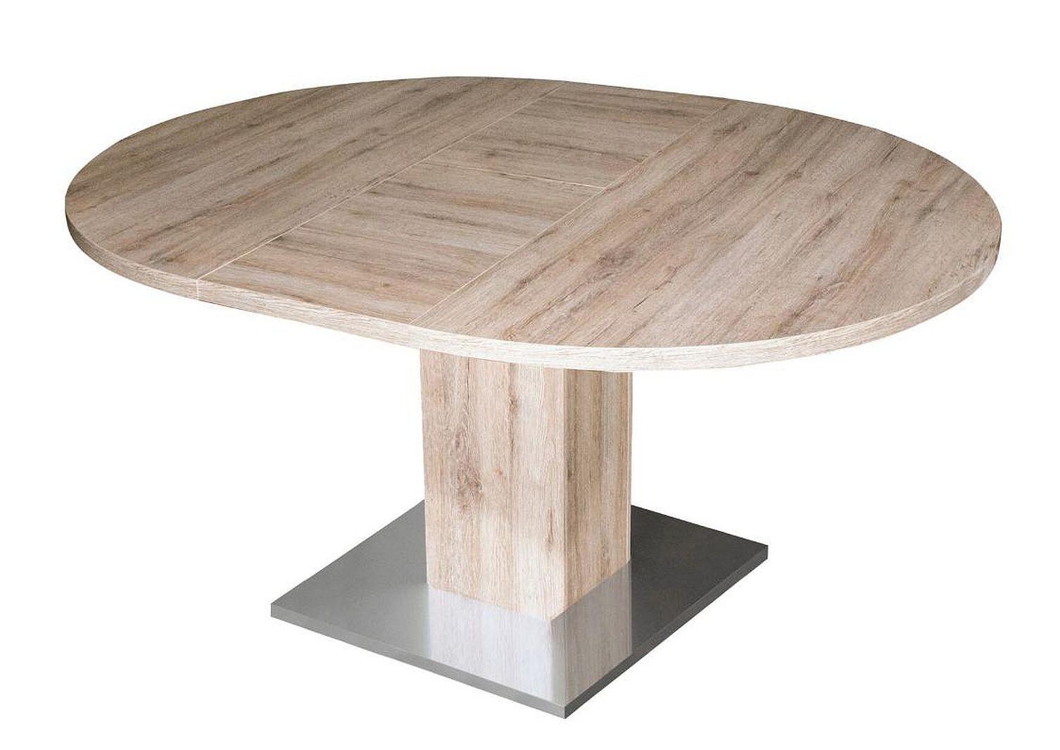 rund esstisch neu tisch tische k chentisch speisetisch esszimmer ausziehbar ebay. Black Bedroom Furniture Sets. Home Design Ideas