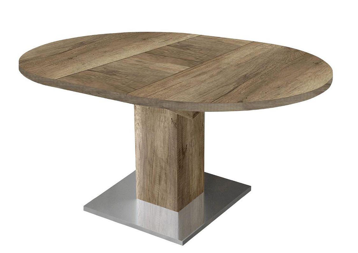 Esstisch rund runder tisch designtisch ausziehtisch for Esstisch rund designklassiker