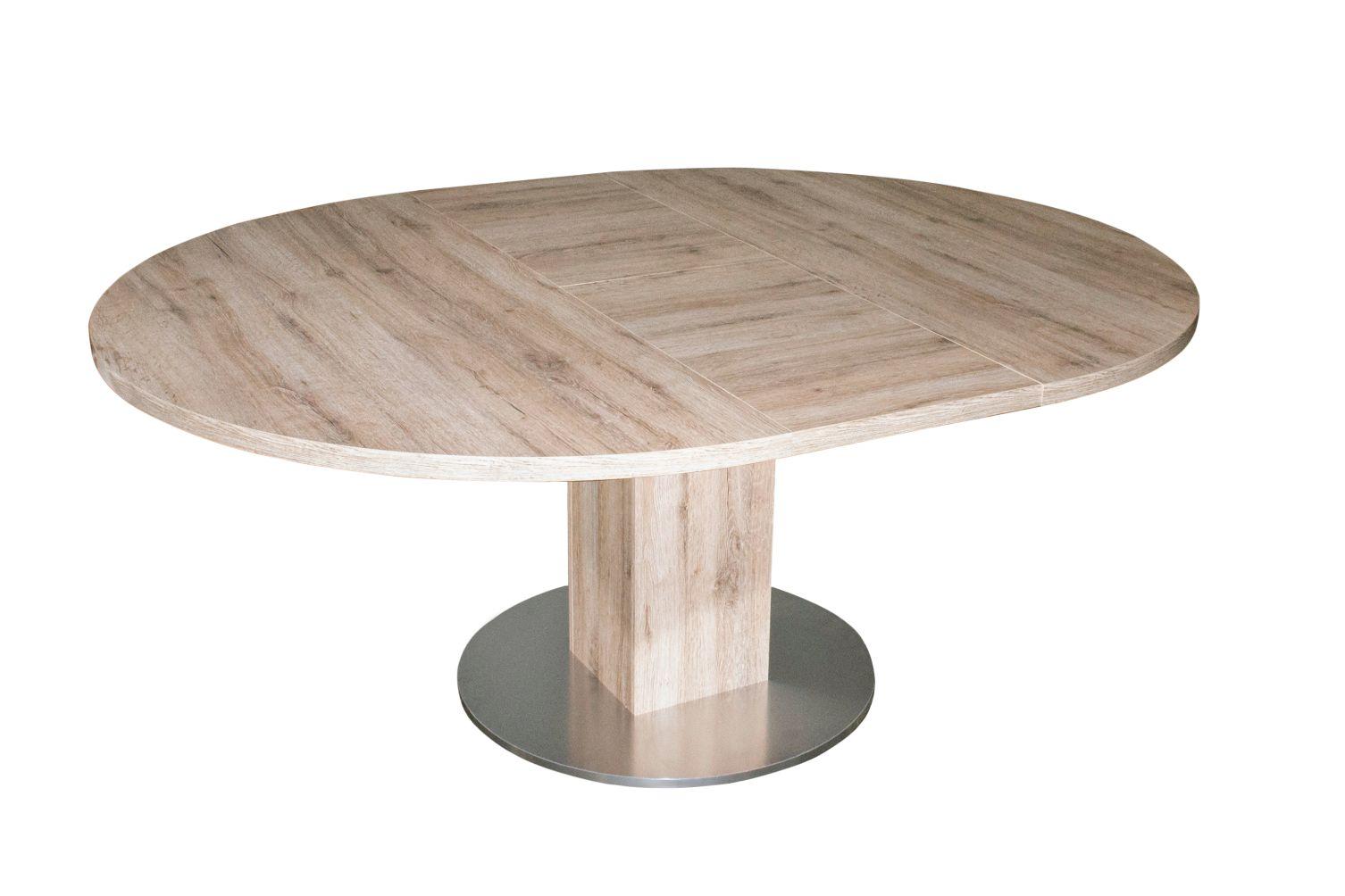 tisch rund k chentisch esstisch tische ausziehtisch speisetisch ausziehbar neu ebay. Black Bedroom Furniture Sets. Home Design Ideas