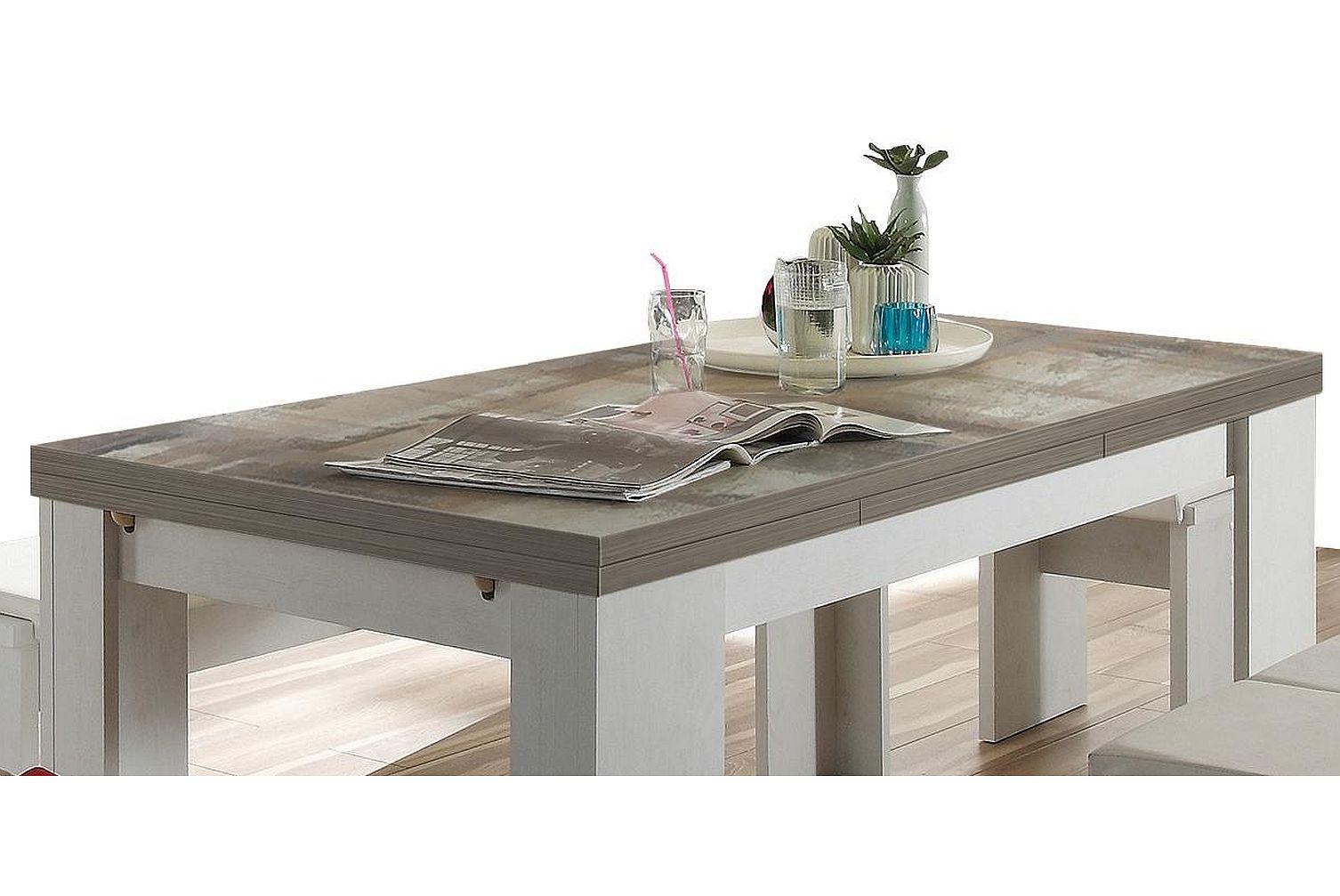 grosser esstisch ausziehtisch erweiterbar kuechentisch tisch tische esstische ebay. Black Bedroom Furniture Sets. Home Design Ideas