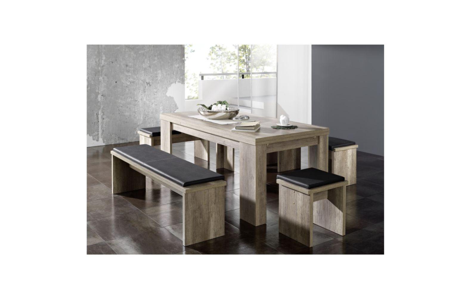 esszimmertisch esstisch erweiterbar ausziehbar gro neu k chentisch tische ebay. Black Bedroom Furniture Sets. Home Design Ideas