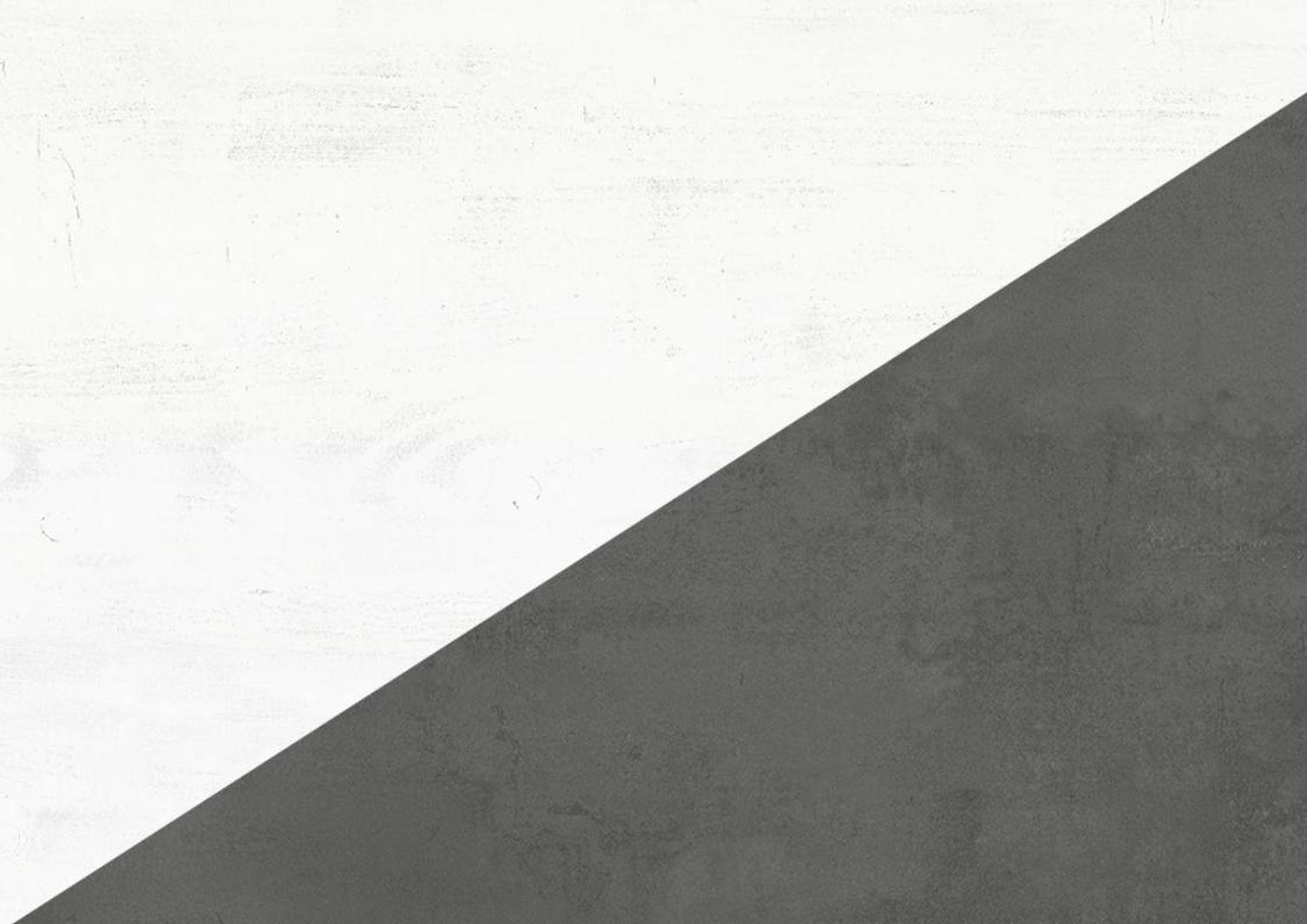 Granny Couchtisch 0636/CT-120 eiche geweisst/graphit