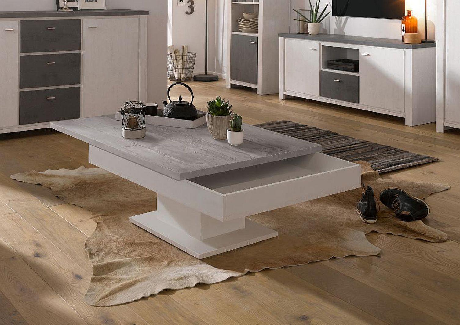 couchtisch wohnzimmertisch designertisch tisch beistelltisch tische 80x80 beton 4260498521982 ebay. Black Bedroom Furniture Sets. Home Design Ideas