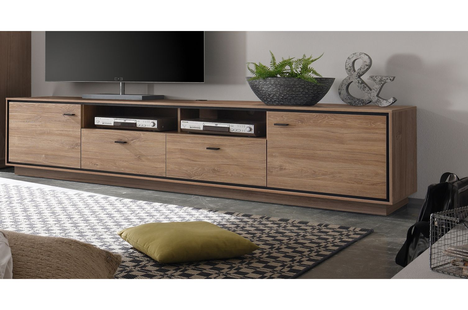 tv schrank new oak m bel design idee f r sie. Black Bedroom Furniture Sets. Home Design Ideas