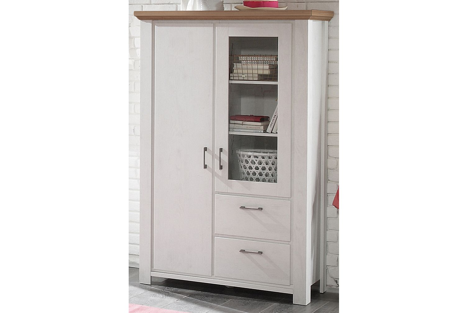 Highboard schrank kommode schr nke sideboard for Dekorfolie schrank