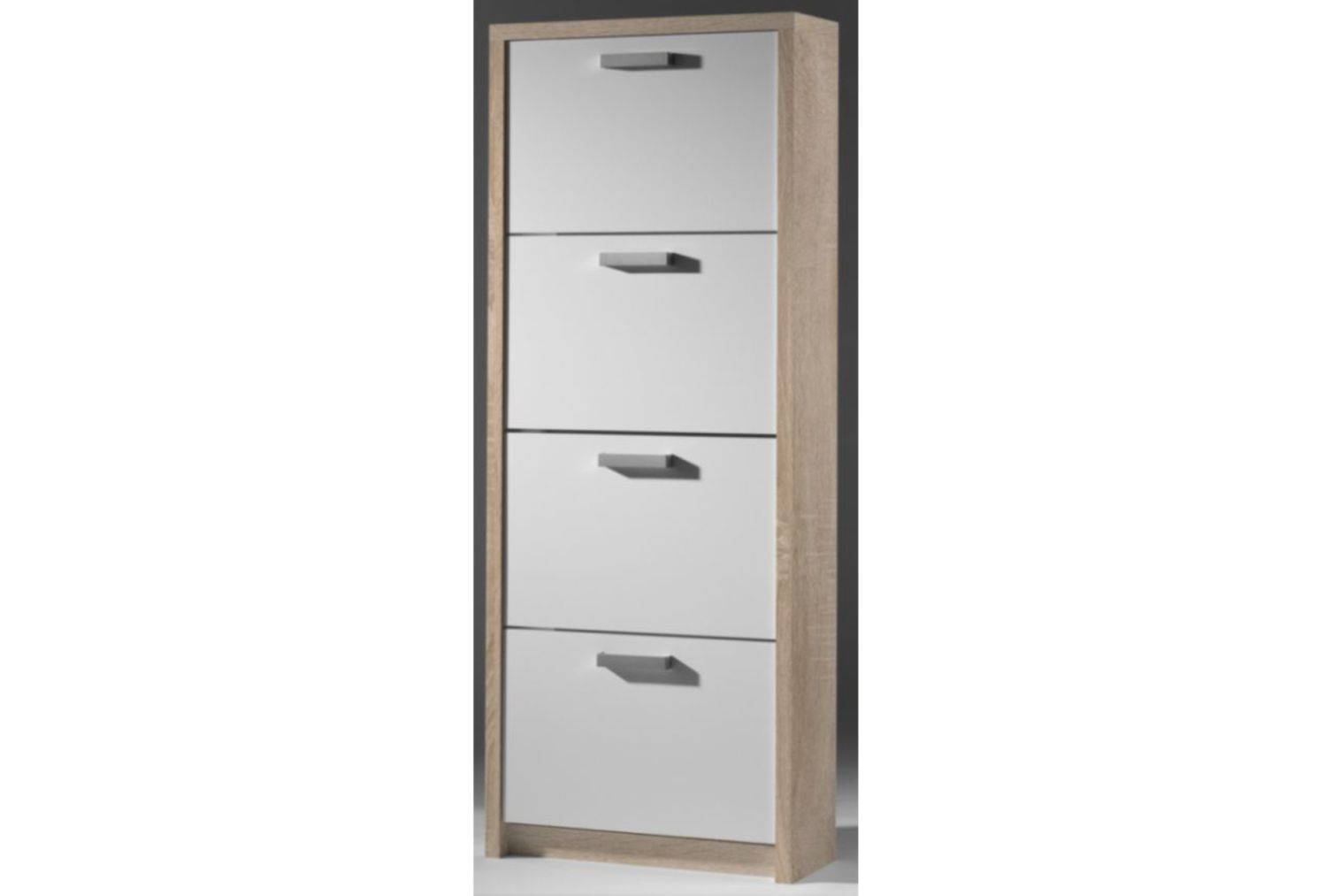 schuhschrank weiss aktuell schuhkipper schuhregal klappenschrank neu kommode ebay. Black Bedroom Furniture Sets. Home Design Ideas