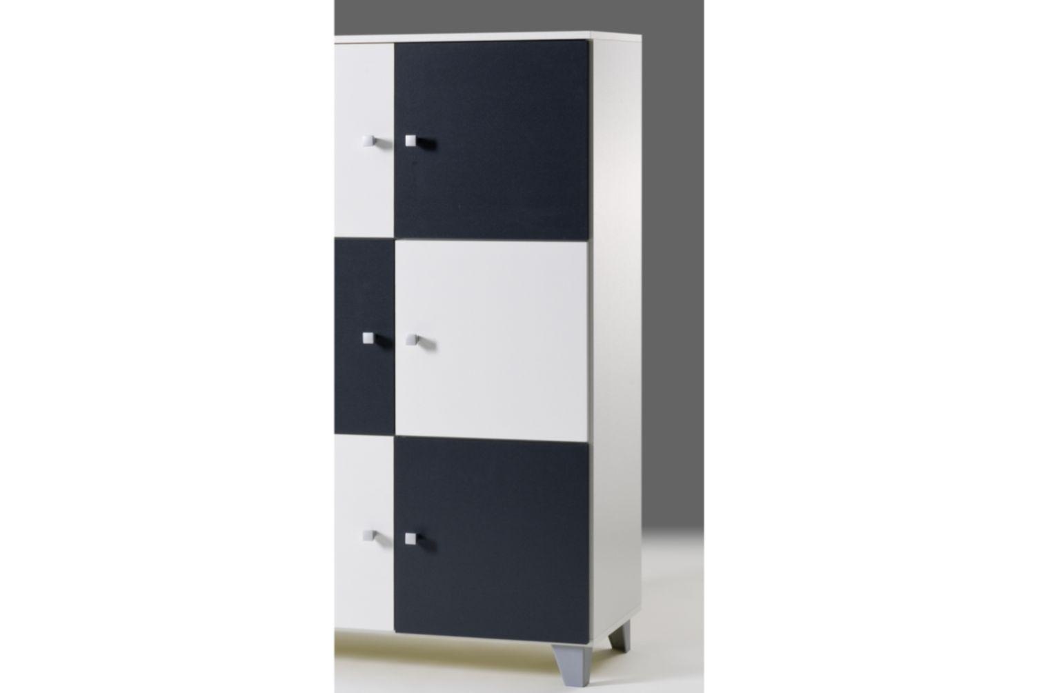 Kommode schrank highboard sideboard neu standschrank for Dekorfolie schrank