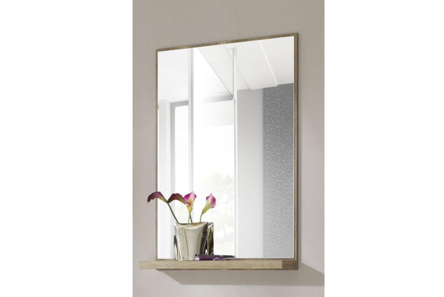 spiegel garderobenspiegel mit ablage wandspiegel flurspiegel neu garderobe neu ebay. Black Bedroom Furniture Sets. Home Design Ideas