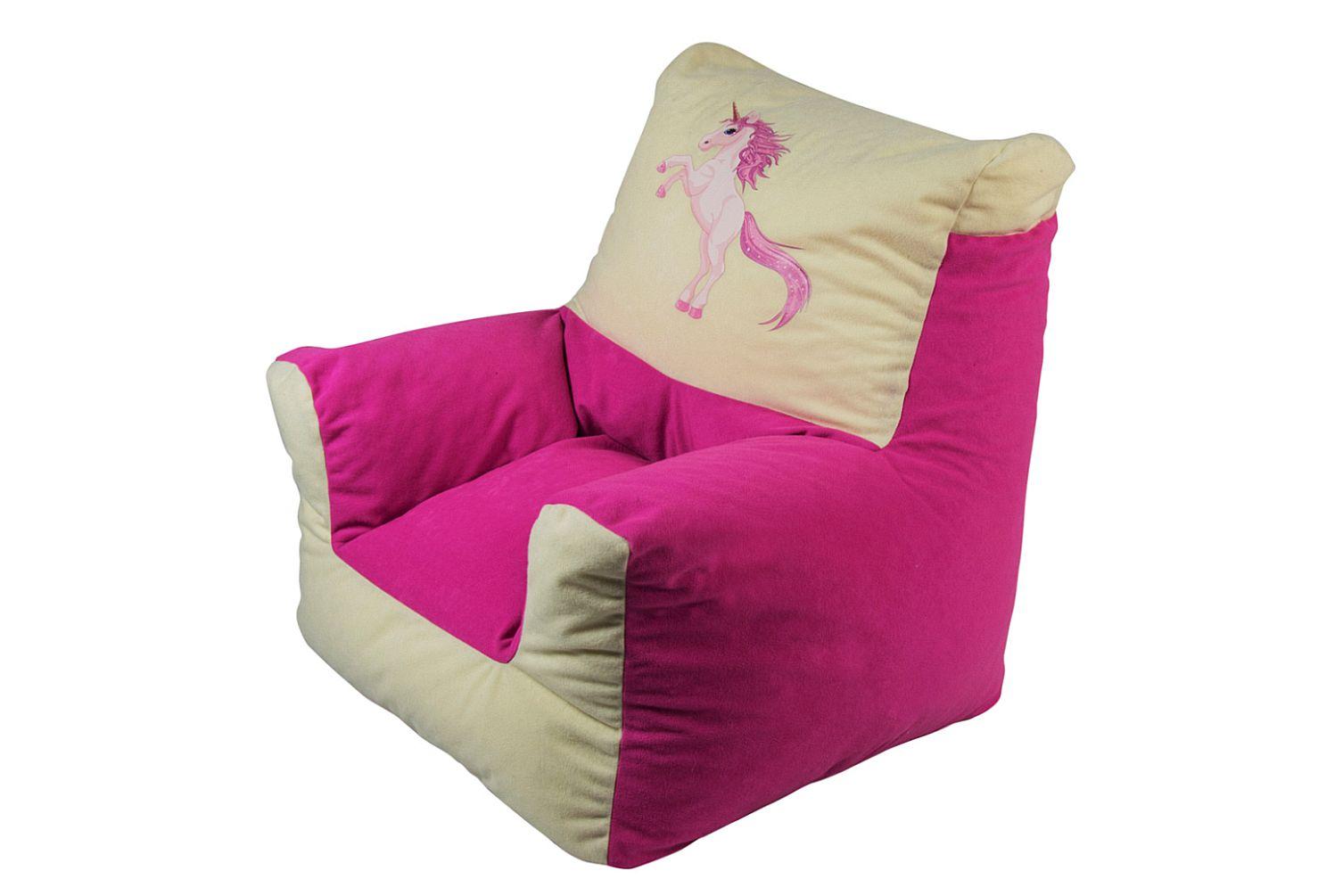 sitzs cke sitzsack kindersitzsack sessel sitzsessel kissen sitzkissen einhorn ebay. Black Bedroom Furniture Sets. Home Design Ideas
