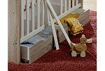 Babyzimmerset Ben Set 2 eiche sägerau / weiss matt 6 tlg.