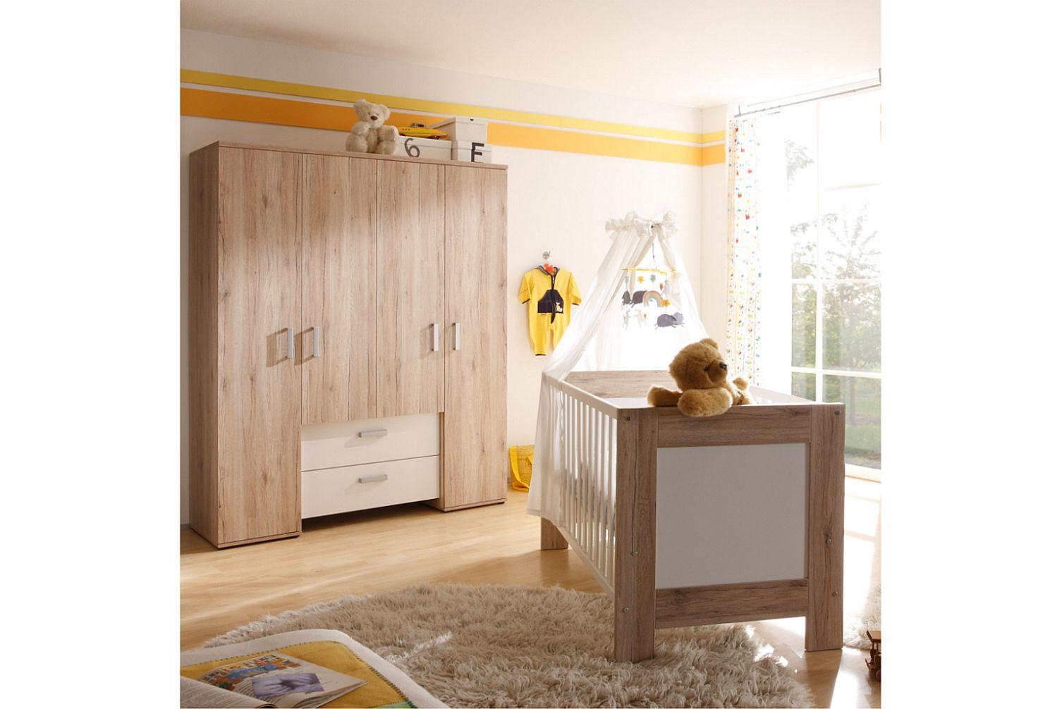 babyzimmer zwillinge komplett. Black Bedroom Furniture Sets. Home Design Ideas