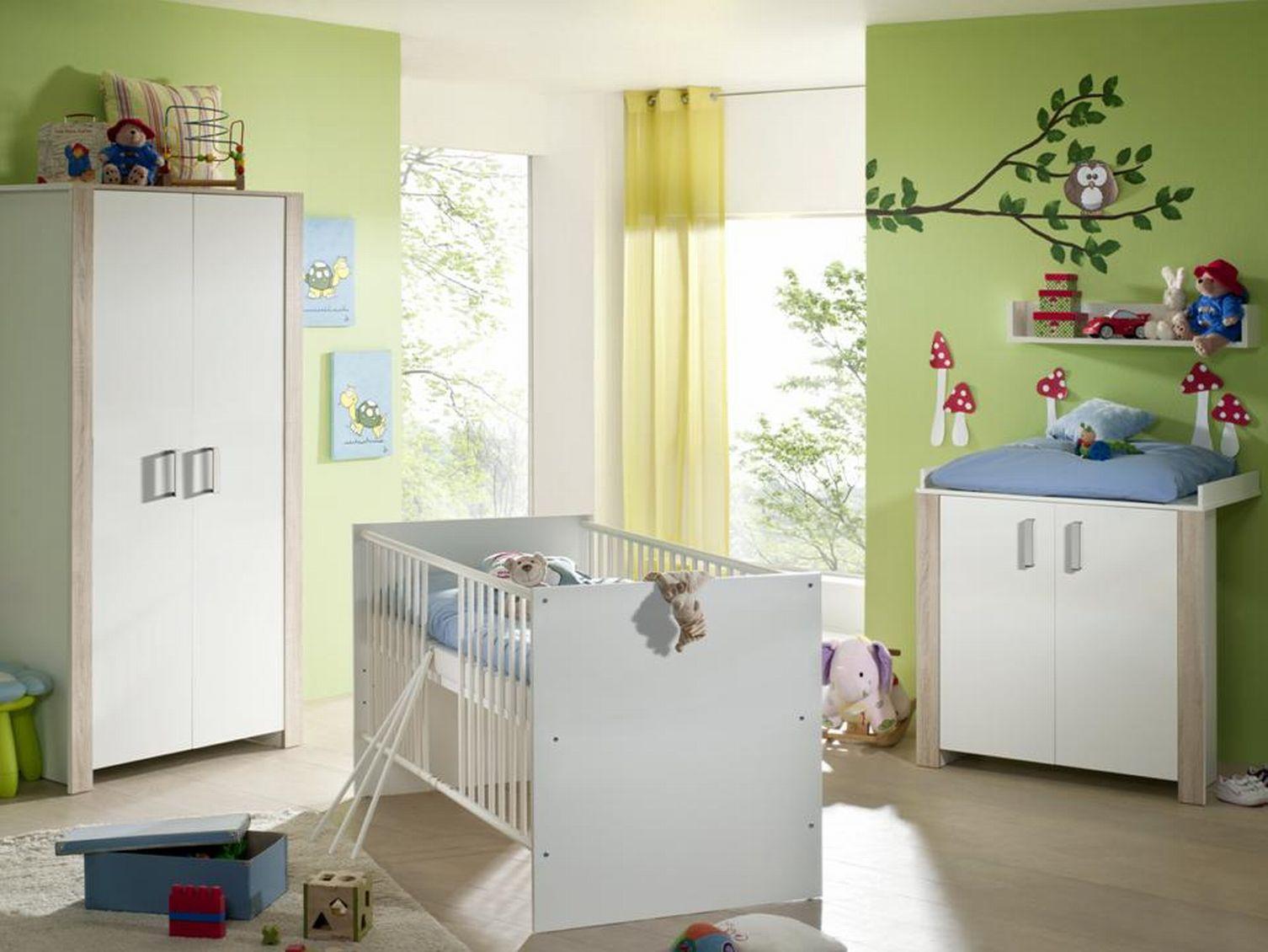 baby babyzimmer komplett neu ausstattung babybett kinderzimmer babym bel set ebay. Black Bedroom Furniture Sets. Home Design Ideas