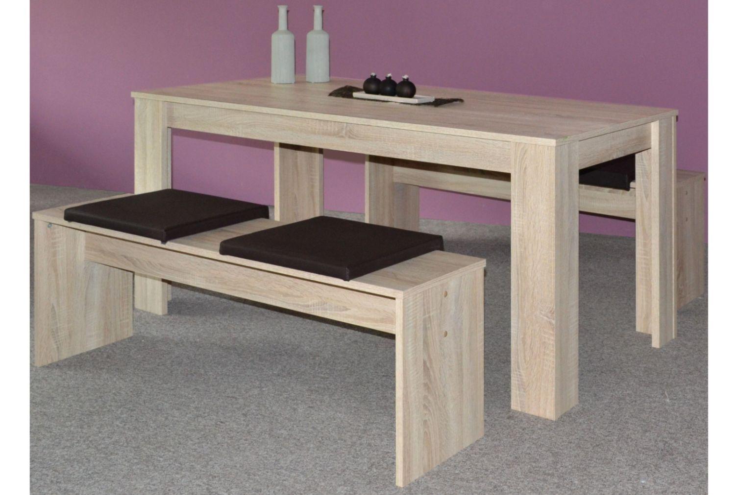 esstischgruppe esstisch tisch essecke essgruppe tisch mit st hlen sitzgruppe neu ebay. Black Bedroom Furniture Sets. Home Design Ideas