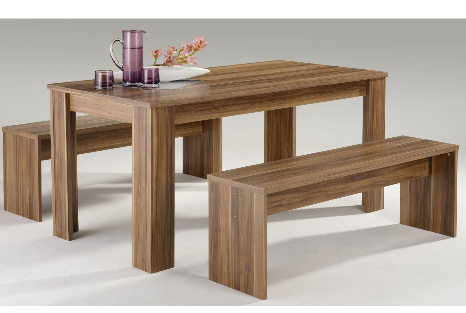 ess gruppe set tisch mit st hlen essecke esstisch esstischgruppe tischgruppe neu ebay. Black Bedroom Furniture Sets. Home Design Ideas