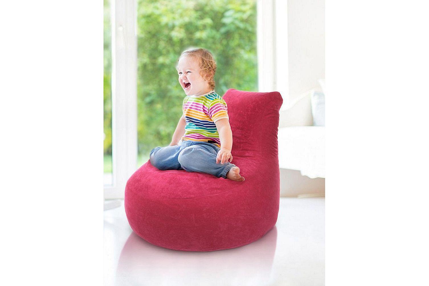 Kids Hogga Sitzsack 409924 rosa