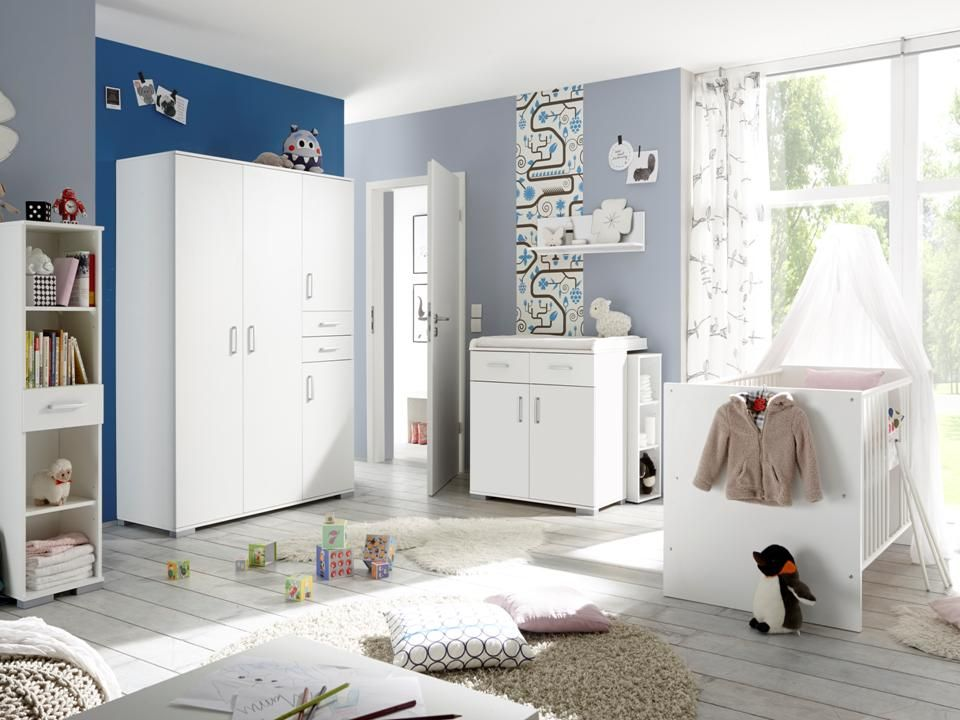 babyzimmer babyzimmerset komplett komplettzimmer 8 tlg. Black Bedroom Furniture Sets. Home Design Ideas