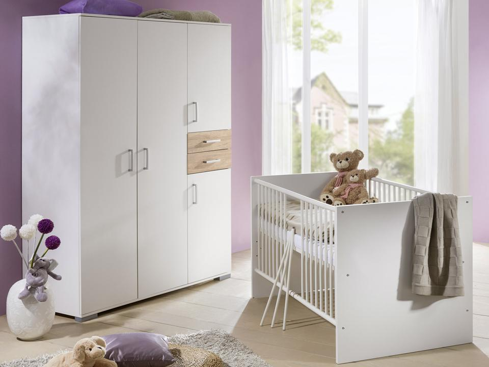 komplett kinderzimmer babym bel wickeltisch babybett. Black Bedroom Furniture Sets. Home Design Ideas
