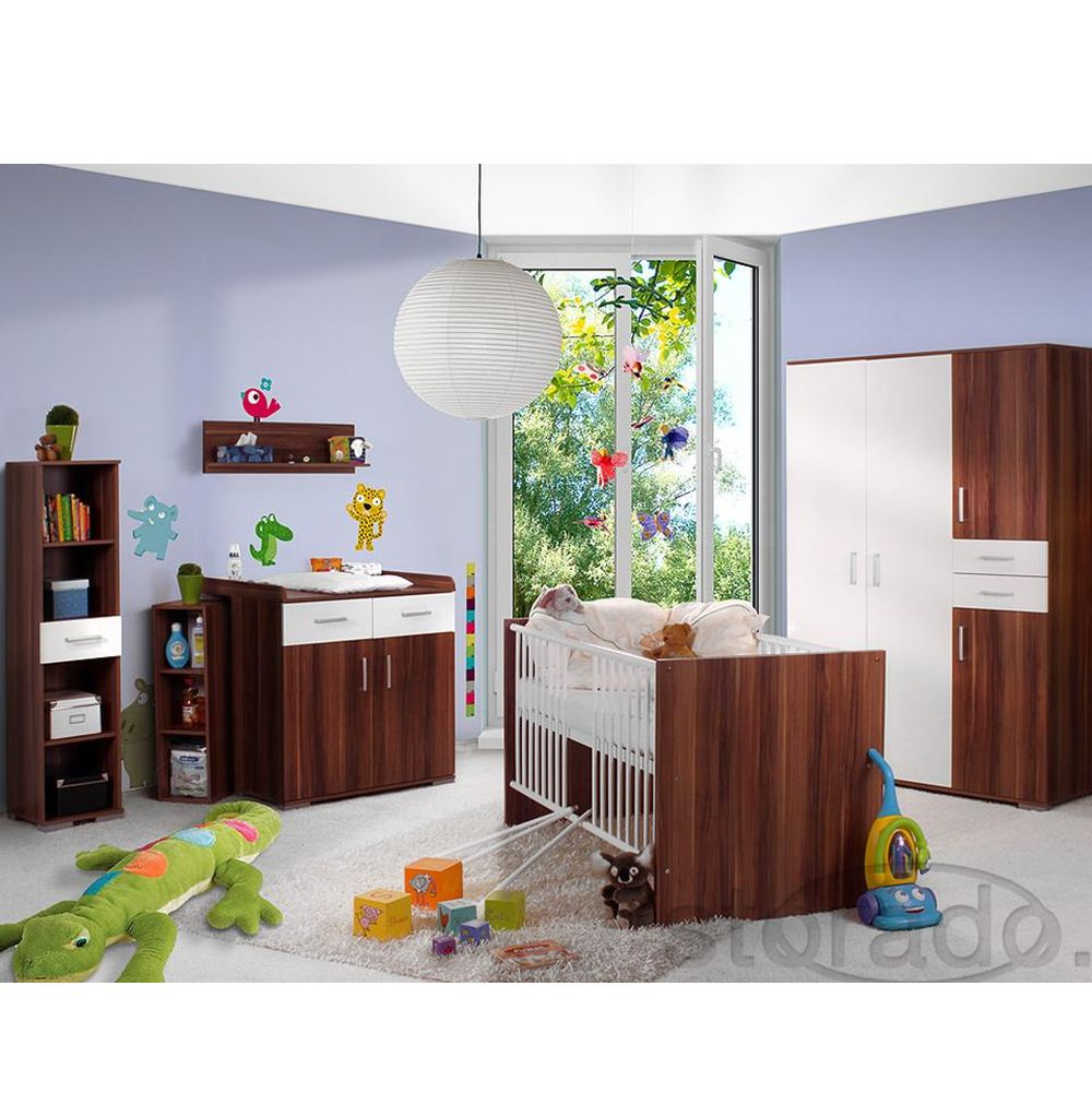 babyzimmer kinderzimmer babym bel wickeltisch babybett ebay. Black Bedroom Furniture Sets. Home Design Ideas