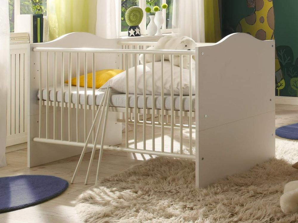babyzimmer lucca 2 weiss weiss 5 tlg kinderzimmer komplett babyzimmer komplett 42604985219486. Black Bedroom Furniture Sets. Home Design Ideas