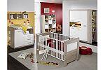Babyzimmer Moritz eiche sägerau / weiss matt 6 tlg.