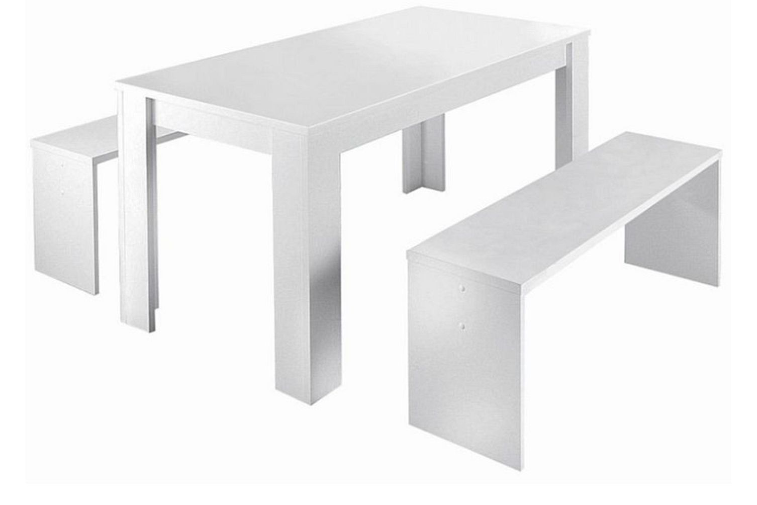 tischset esstischgruppe tischgruppe esstisch esstisch mit bank k chentisch neu ebay. Black Bedroom Furniture Sets. Home Design Ideas