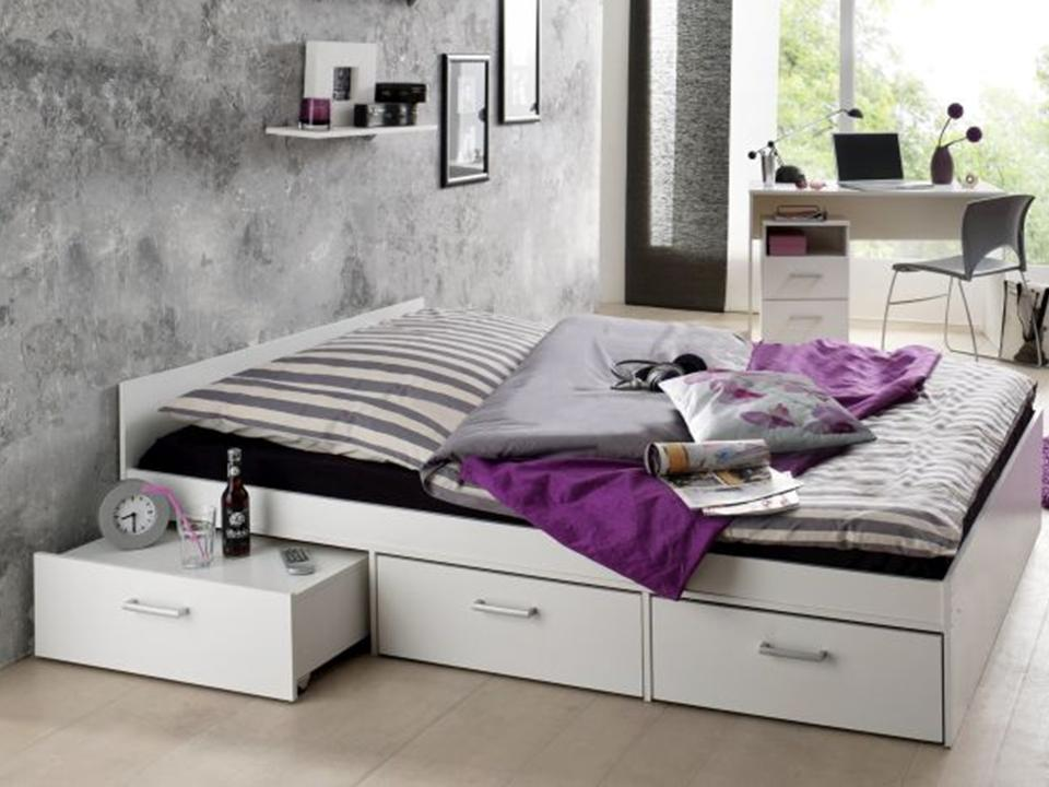 jugendzimmer komplett steffi 2 jugendbett 140x200 6 tlg kinderzimmer neu bett ebay. Black Bedroom Furniture Sets. Home Design Ideas