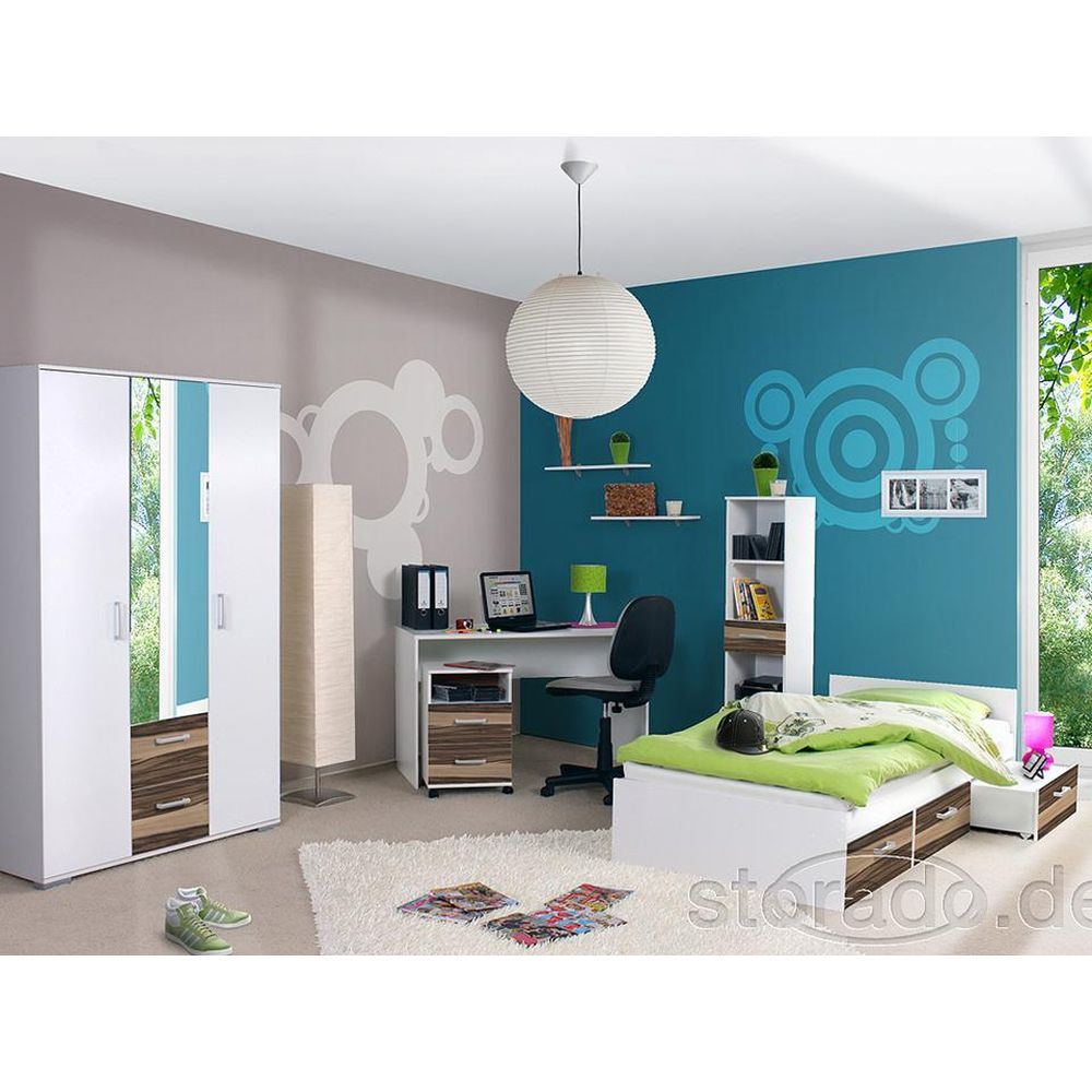 jugendzimmer komplett kinderzimmer komplettzimmer neu ebay. Black Bedroom Furniture Sets. Home Design Ideas
