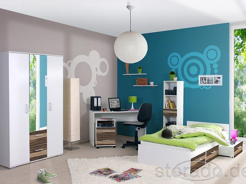 Jugendzimmer Kinderzimmer komplett Komplettzimmer Bett  eBay