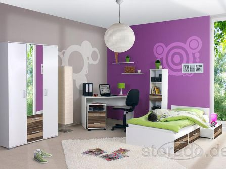 jugendzimmer komplett kinderzimmer komplettzimmer neu. Black Bedroom Furniture Sets. Home Design Ideas