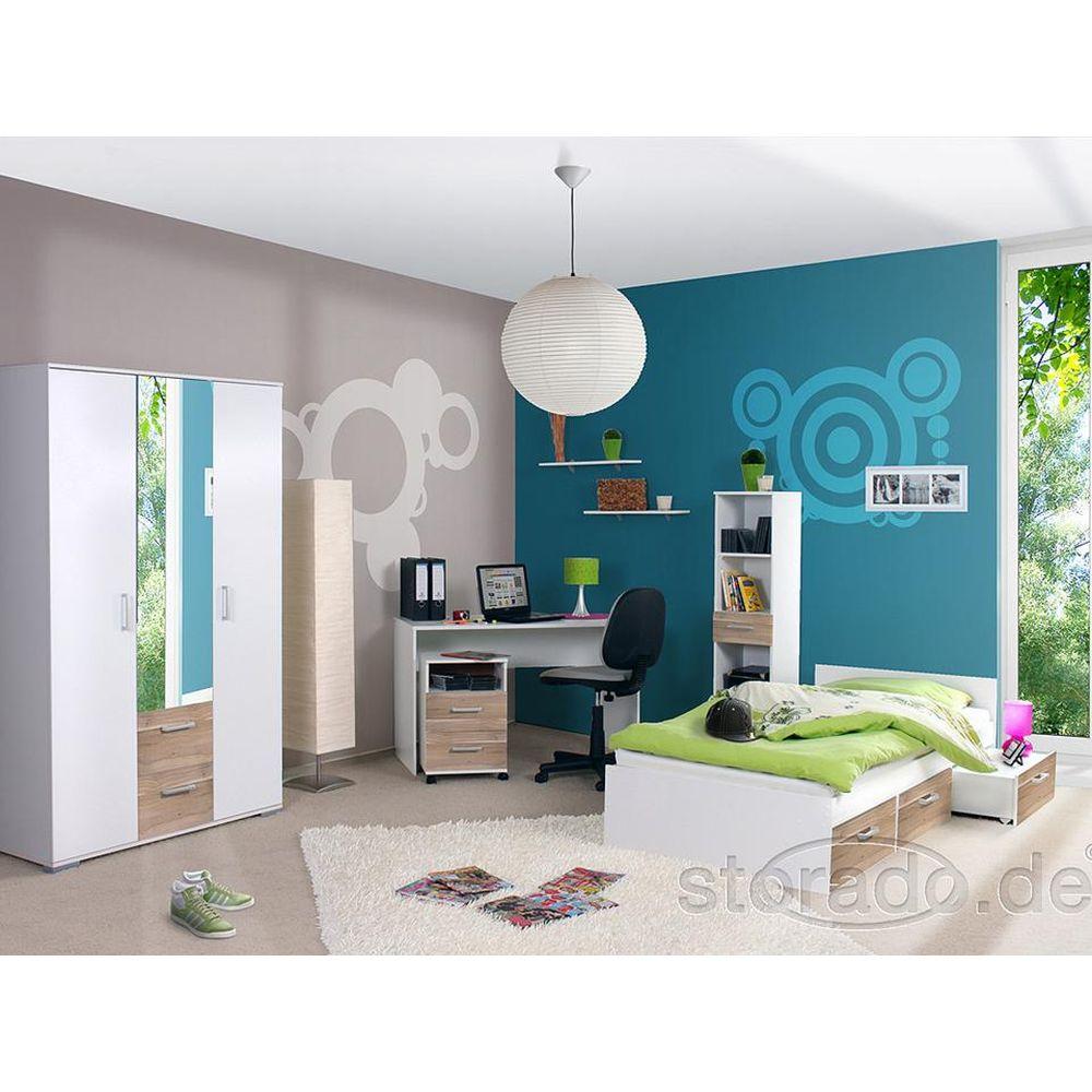 jugendzimmer komplett kinderzimmer komplettzimmer neu ebay. Black Bedroom Furniture Sets. Home Design Ideas