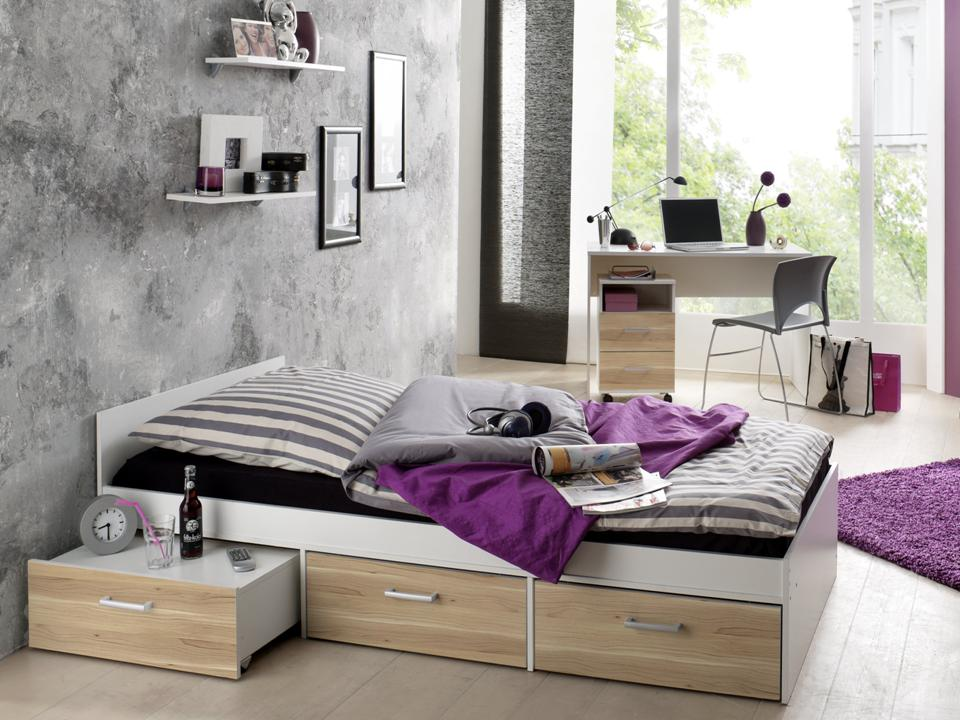 jugendzimmer steffi weiss rosales 6 tlg online kaufen. Black Bedroom Furniture Sets. Home Design Ideas