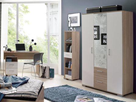 jugendzimmer komplett schreibtisch bett kinderzimmer jugendbett jugend zimmer. Black Bedroom Furniture Sets. Home Design Ideas