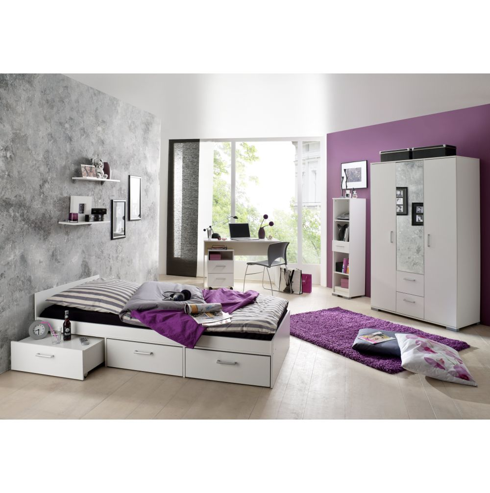 jugendzimmer komplett kinderzimmer schreibtisch bett. Black Bedroom Furniture Sets. Home Design Ideas