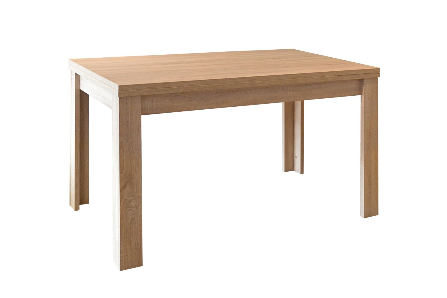 Tisch k chentisch esszimmertisch esstisch ausziehbar for Platzsparender esstisch
