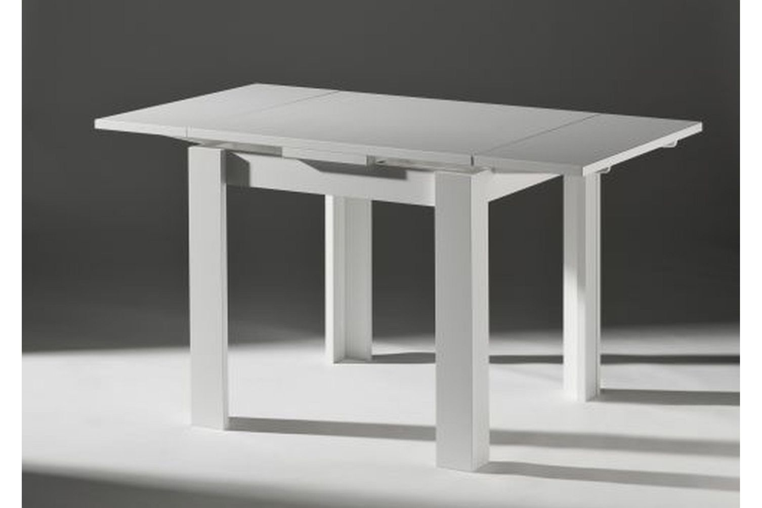esstisch klein ausziehbar erweiterbar weiss neu modern k chentisch speisetisch ebay. Black Bedroom Furniture Sets. Home Design Ideas