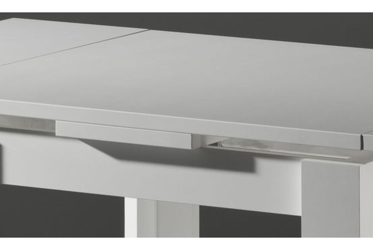 Esstisch Zip 80 Weiss-matt 0590/80
