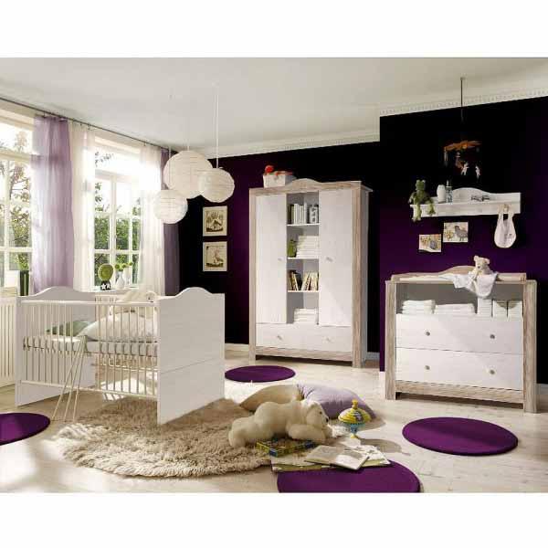 Babyzimmer Paris anderson pine nelson eiche 5 tlg. EAN4260498522736