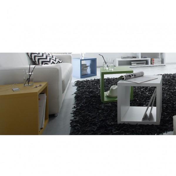 Mac Würfel 1 Stück 0527 1 Weiss matt B H T 40 x 40 x 40 cm