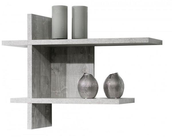 Wandregal beton B H T 80x60x25 cm Mix 1 0524 1er