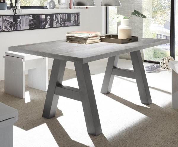 Esstisch graphit beton 160x75x90 cm Mister A160 EAN4044393248027