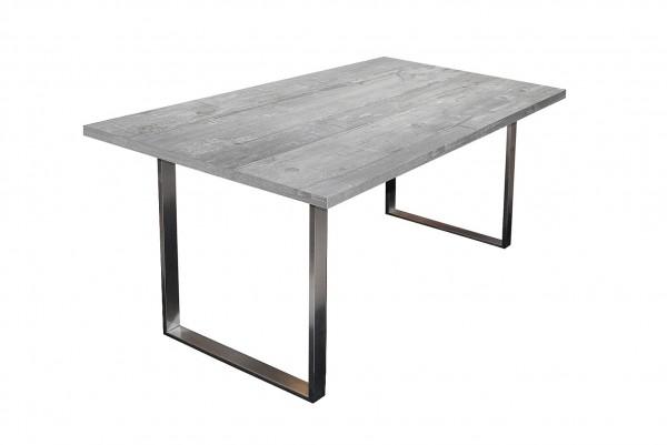 Steel Esstisch 0546 140-90 beton B H T 140 x 76 x 90 cm