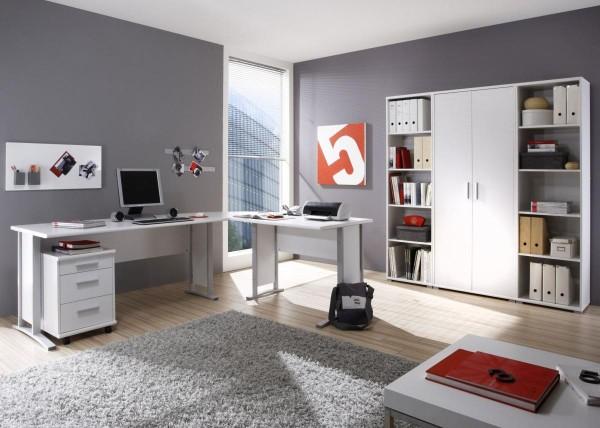 Bürozimmer Office Line Set 1 weiss 5 tlg