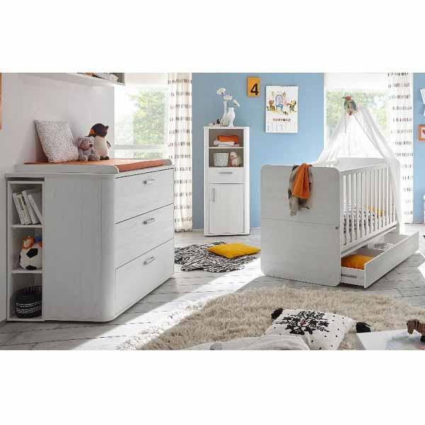 Babyzimmer F Zwillinge Lara Set 7 Anderson Pine 5tlg Storado De