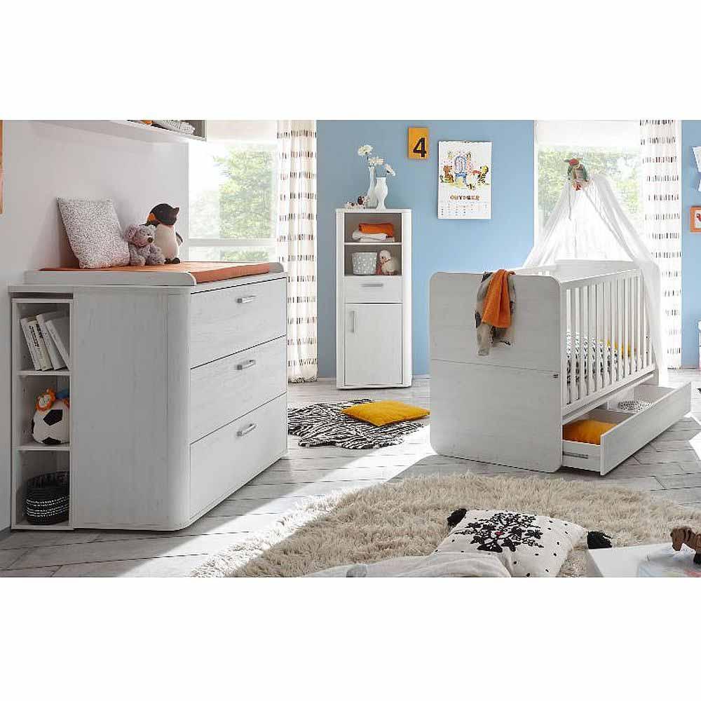 babyzimmer lara set 2 anderson pine 5 tlg. Black Bedroom Furniture Sets. Home Design Ideas