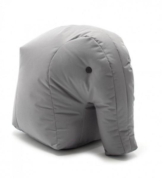 Sitzsack Elefant 71x47x53 cm anthrazit 190114