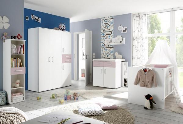 Babyzimmerset Sienna 8-tlg weiß matt flieder EAN 4260498522750